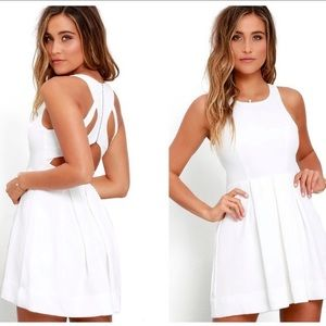 Lulus White Dress